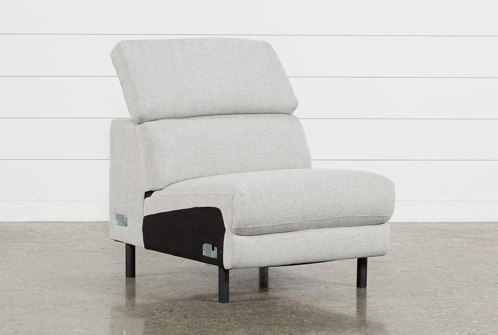 Talin Linen II Armless Chair W/ Ratchet Headrest