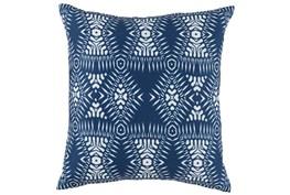 Outdoor Accent Pillow-Outdoor Kauai Indigo Blue 18X18