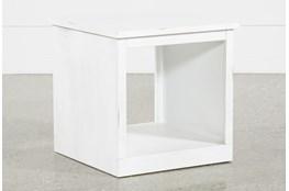 Noah White End Table