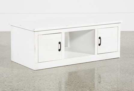 Noah White Coffee Table