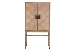 Oak Wood Natural Cabinet