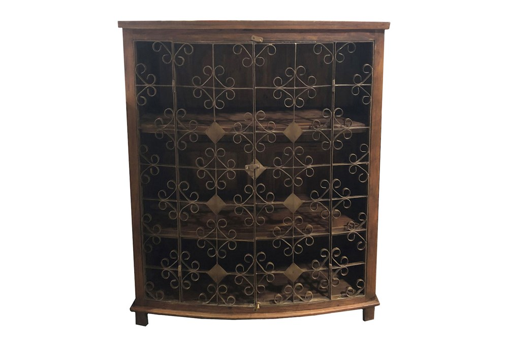 Relcaimed Brown Cabinet