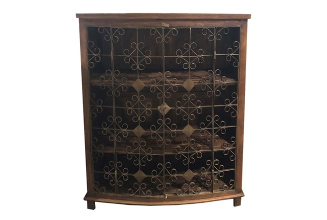 Relcaimed Brown Cabinet - 360