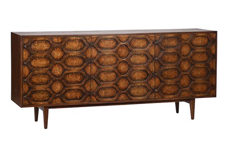 3D Oak Sideboard