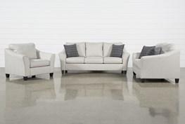 Kinsley 3 Piece Living Room Set
