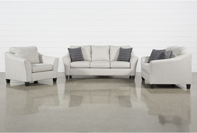 Kinsley 3 Piece Living Room Set - 360
