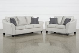 Kinsley 2 Piece Living Room Set With Queen Sleeper