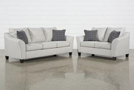 Kinsley 2 Piece Living Room Set With Queen Sleeper