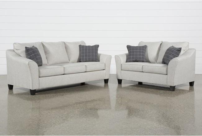 Kinsley 2 Piece Living Room Set With Queen Sleeper - 360
