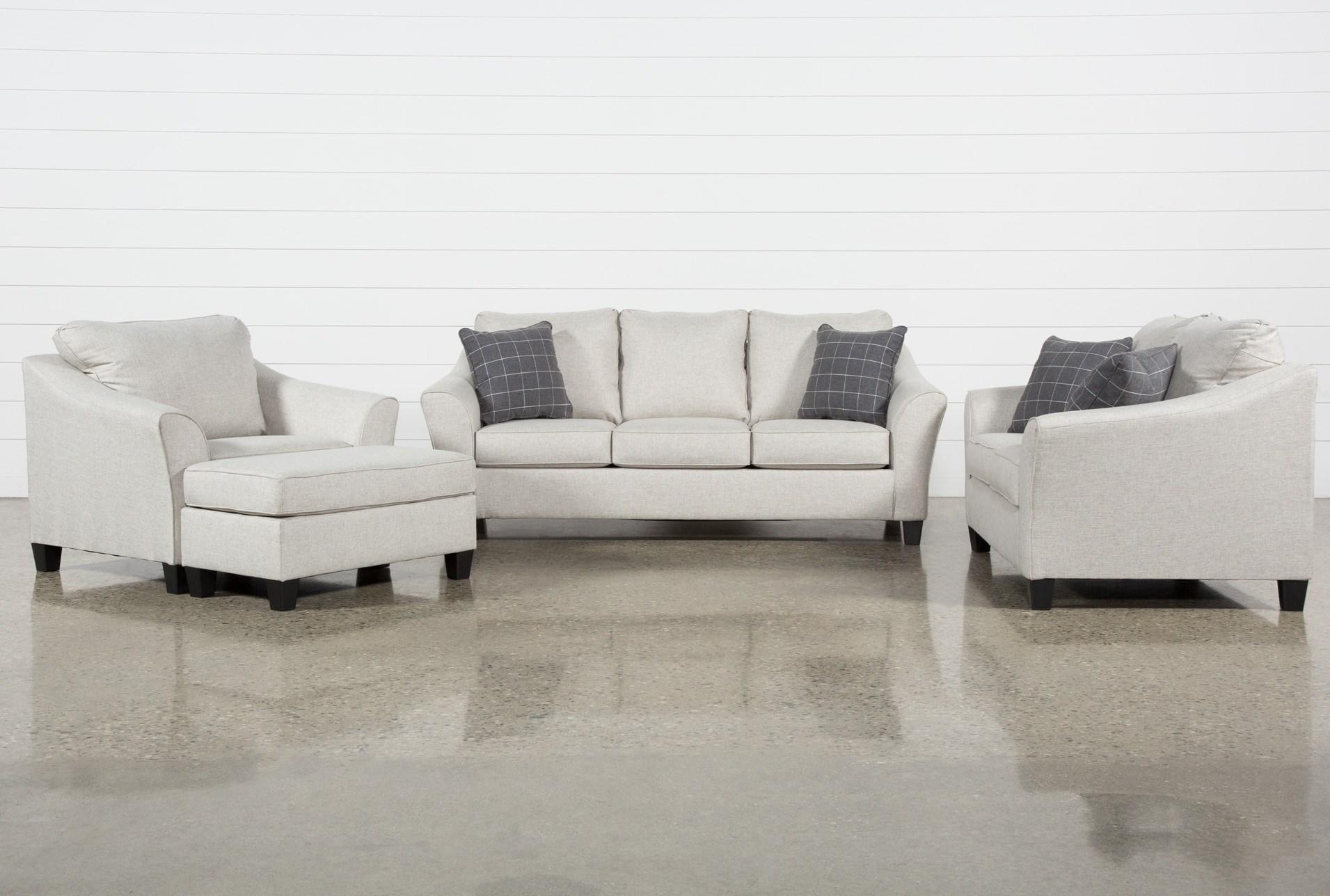 Kinsley 4 Piece Living Room Set With Queen Sleeper | Living Spaces