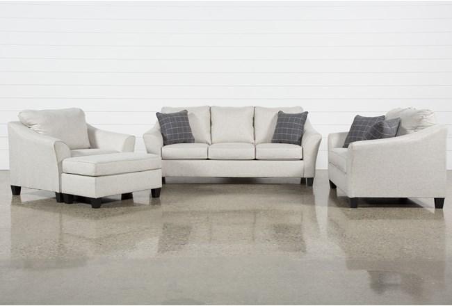 Kinsley 4 Piece Living Room Set With Queen Sleeper - 360