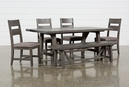 Timber 6 Piece Dining Set