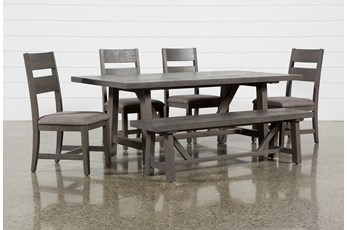 Timber 6 Piece Dining Set