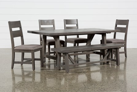 Timber 6 Piece Dining Set - Main