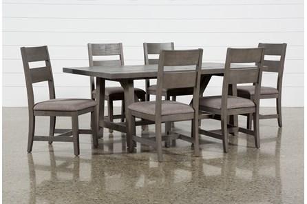 Timber 7 Piece Dining Set - Main