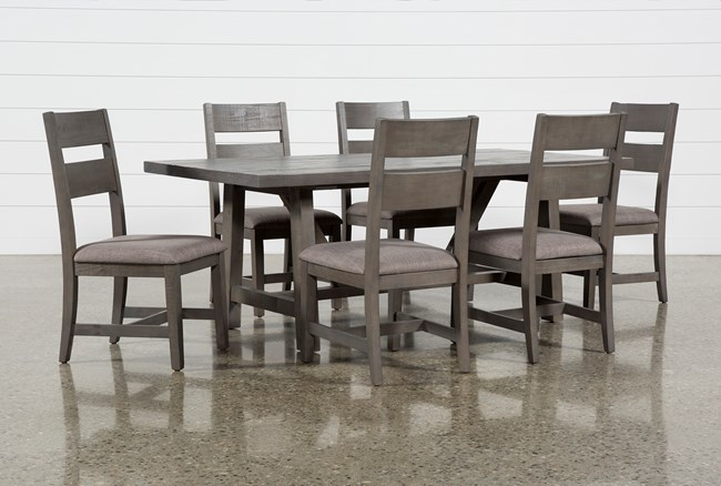 Timber 7 Piece Dining Set - 360