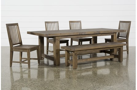 Gables 6 Piece Extension Dining Set - Main