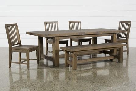 Gables 6 Piece Extension Dining Set - Main