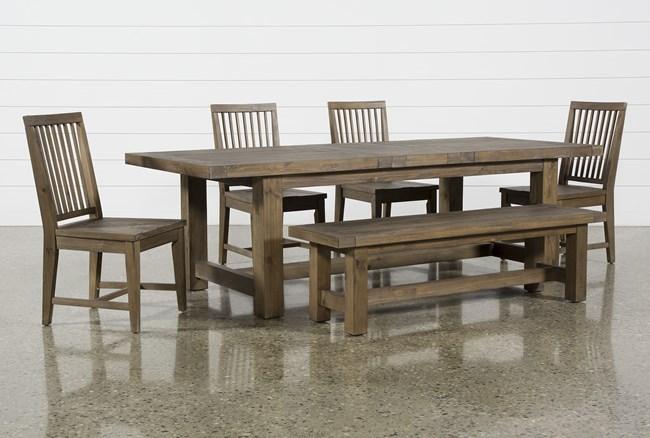 Gables 6 Piece Extension Dining Set - 360