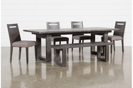 Prat 6 Piece Extension Dining Set - Main
