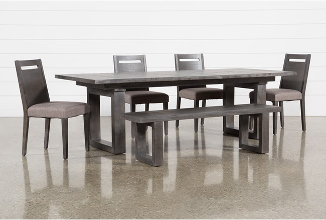 Prat 6 Piece Extension Dining Set - 360