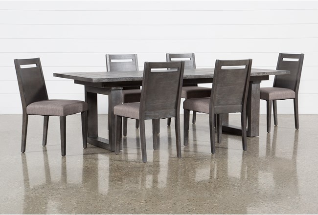Prat 7 Piece Extension Dining Set - 360