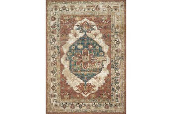 91X130 Rug-Magnolia Homes Evie Spice/Multi By Joanna Gaines