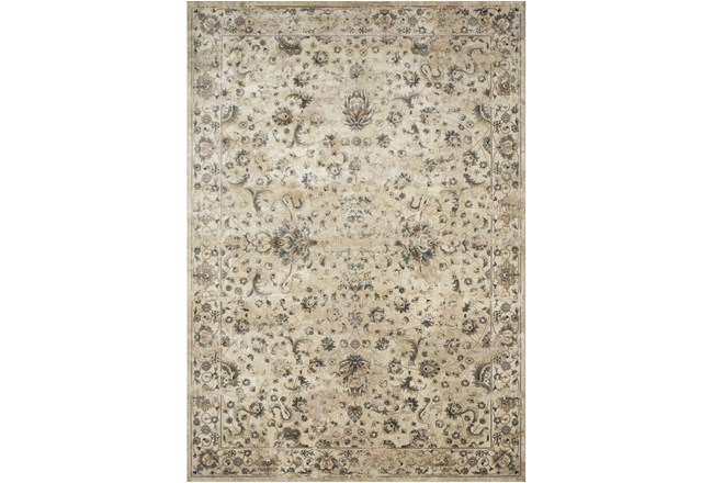 110X156 Rug-Magnolia Homes Evie Ivory/Multi By Joanna Gaines - 360