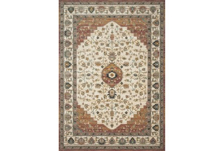 138X180 Rug-Magnolia Homes Evie Ivory/Terracotta By Joanna Gaines