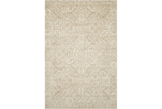 111X156 Rug-Magnolia Home Lotus Sand/Ivory By Joanna Gaines - 360