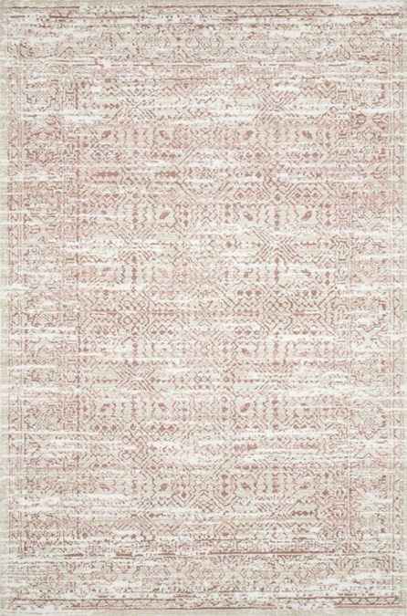 60X90 Rug-Magnolia Home Lotus Ivory/Blush By Joanna Gaines
