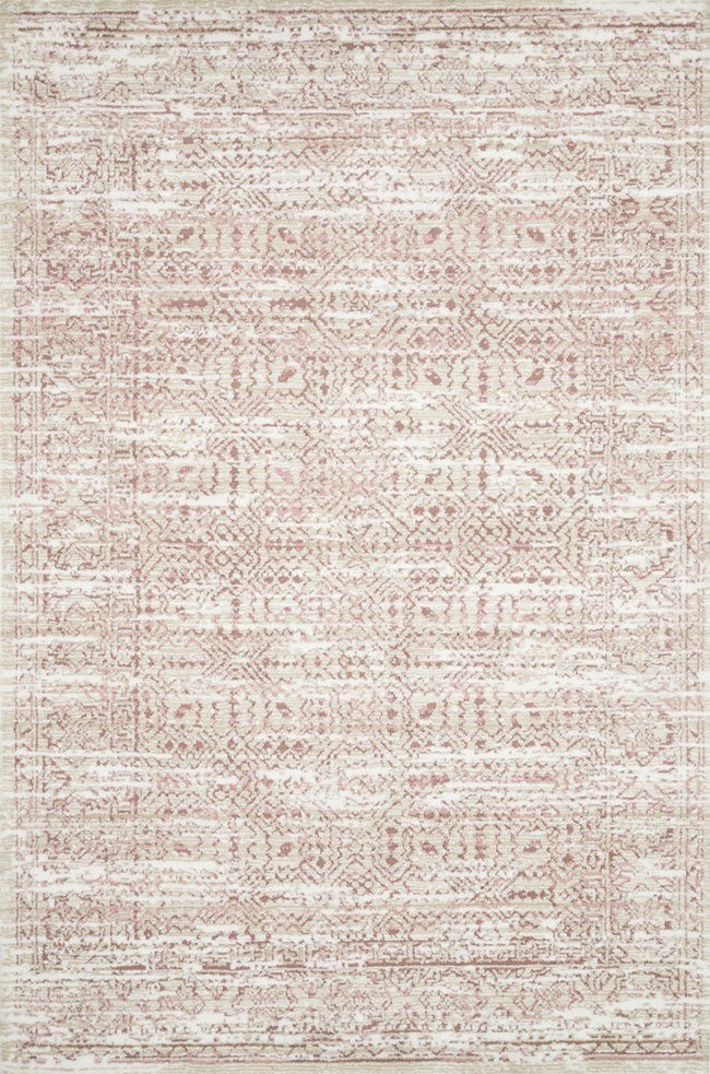 60X90 Rug-Magnolia Home Lotus Ivory/Blush By Joanna Gaines - 360