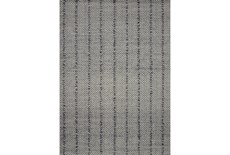 111X156 Rug-Magnolia Home ElIIston Charcoal By Joanna Gaines