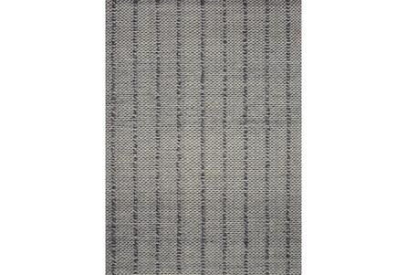 111X156 Rug-Magnolia Home ElIIston Charcoal By Joanna Gaines