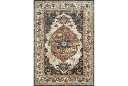 30X96 Rug-Magnolia Homes Evie Ivory/Spice By Joanna Gaines