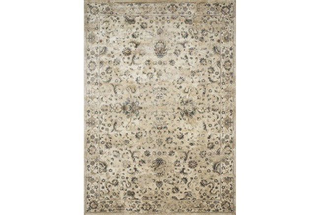 76X110 Rug-Magnolia Homes Evie Ivory/Multi By Joanna Gaines - 360