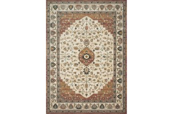 42X62 Rug-Magnolia Homes Evie Ivory/Terracotta By Joanna Gaines