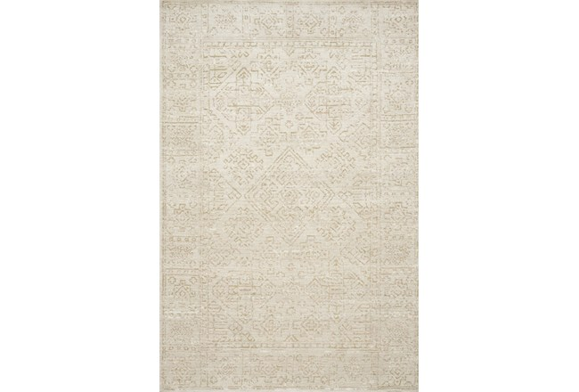42X66 Rug-Magnolia Home Lotus Ivory/Cream By Joanna Gaines - 360
