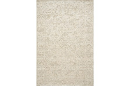 111X156 Rug-Magnolia Home Lotus Ivory/Cream By Joanna Gaines