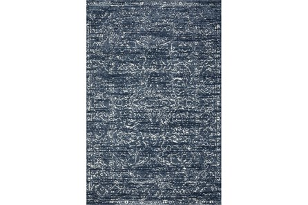 27X45 Rug-Magnolia Home Lotus Blue/Cream By Joanna Gaines