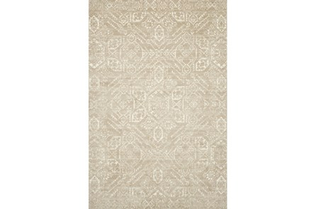 93X117 Rug-Magnolia Home Lotus Sand/Ivory By Joanna Gaines