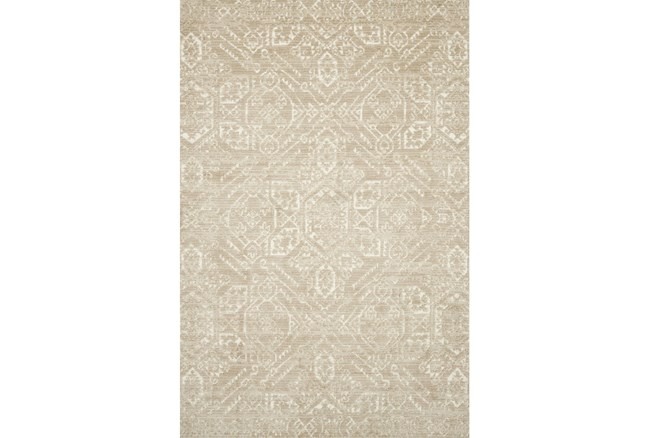 93X117 Rug-Magnolia Home Lotus Sand/Ivory By Joanna Gaines - 360