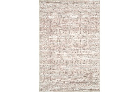 27X45 Rug-Magnolia Home Lotus Ivory/Blush By Joanna Gaines