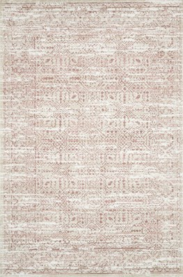 93X117 Rug-Magnolia Home Lotus Ivory/Blush By Joanna Gaines