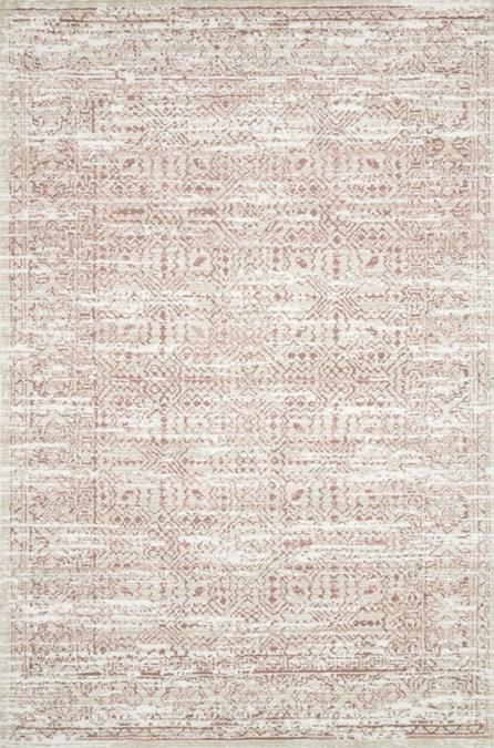 93X117 Rug-Magnolia Home Lotus Ivory/Blush By Joanna Gaines