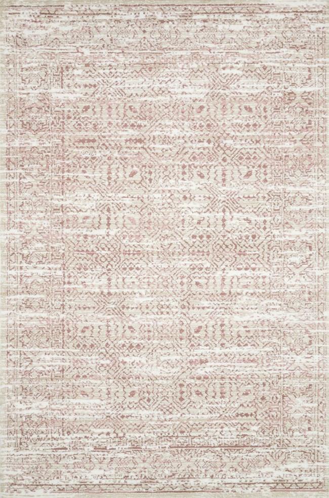 93X117 Rug-Magnolia Home Lotus Ivory/Blush By Joanna Gaines - 360