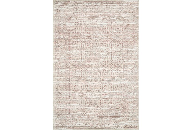 111X156 Rug-Magnolia Home Lotus Ivory/Blush By Joanna Gaines - 360