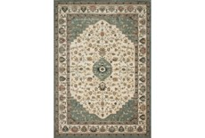 30X96 Rug-Magnolia Homes Evie Ivory/Jade By Joanna Gaines