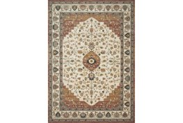 91X130 Rug-Magnolia Homes Evie Ivory/Terracotta By Joanna Gaines