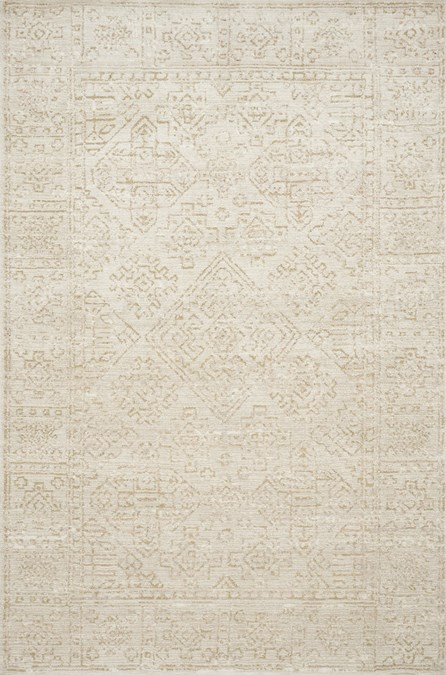 60X90 Rug-Magnolia Home Lotus Ivory/Cream By Joanna Gaines